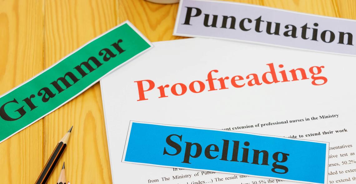 Proofreading Basics Cert